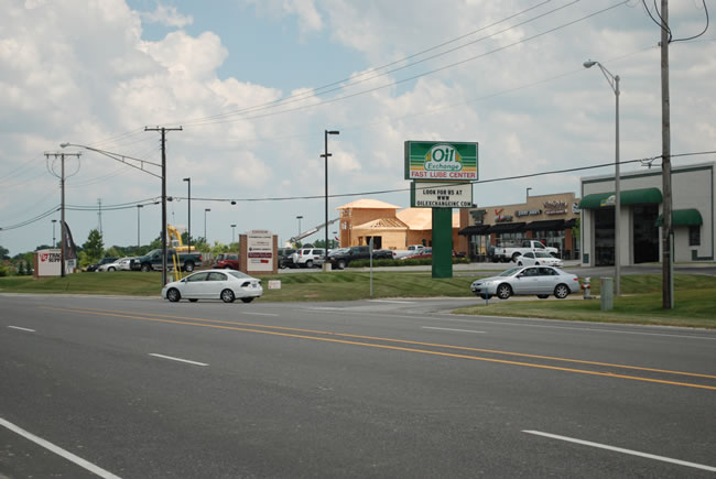 Chicago Commercial Leasing Property - Oil Express