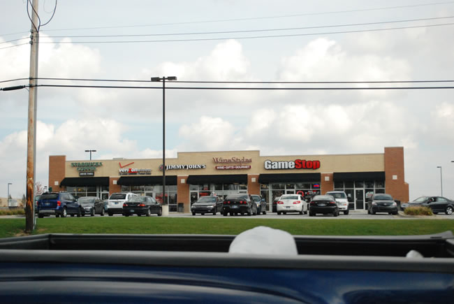 Indiana Commercial Strip mall - Starbucks