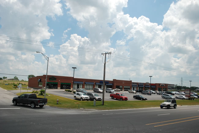 Indiana Commercial Strip Mall - Ravenwood Square